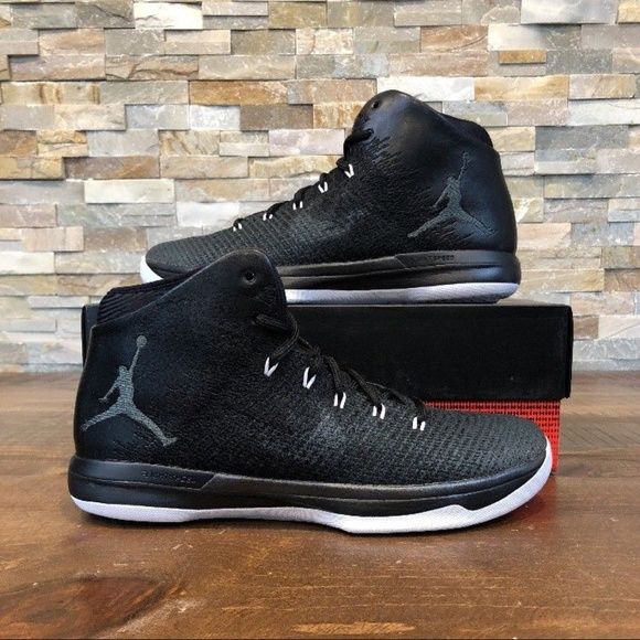 first rate 44318 84d8f Nike Air Jordan XXXI 31 Black Cat Anthracite